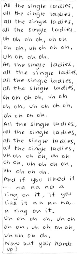 All the single....